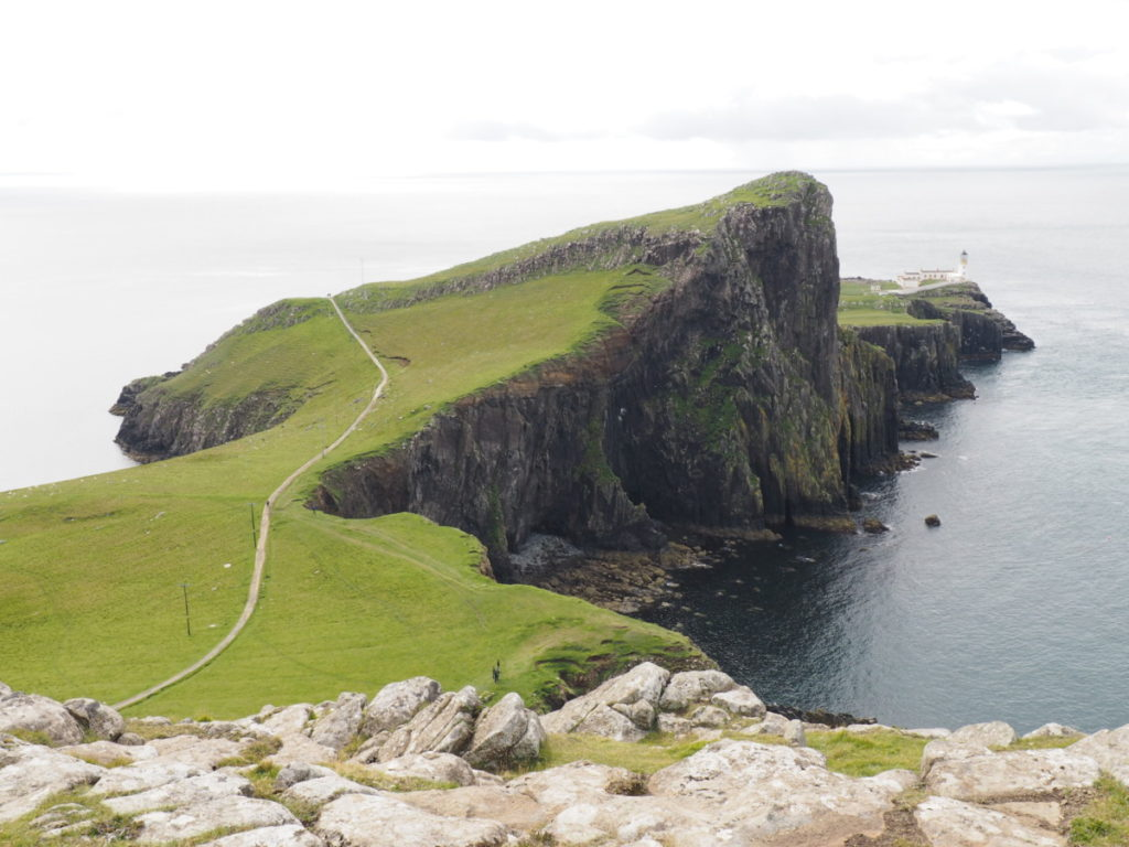 neist point lighthouse isle of sky scotland